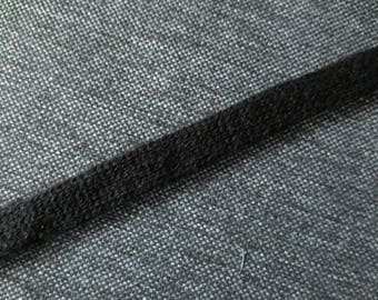 Sleeve width 1.5 cm by the yard black knit
