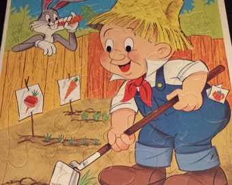 Elmer Fudd And Bugs Bunny Children S Pendulum Clock