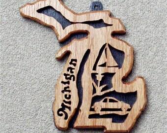 Michigan State Plaque