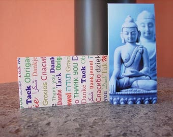 Bookmark magnetic pattern zen meditation