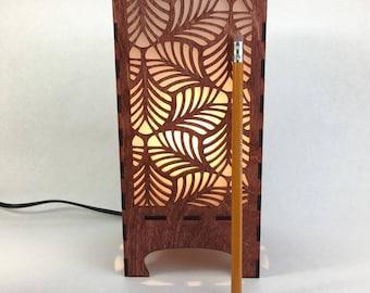 Lantern with Leaf Pattern, Home Decor, Lighting