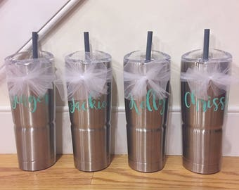 Hot/Cold Personalized Drink Tumbler