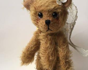Artist Bear by Chicago Bear Co: Mohair Fairy Bear Flora