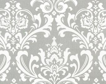 Premier Prints Ozbourne in Storm Grey Twill Home Decor fabric, 1 yard
