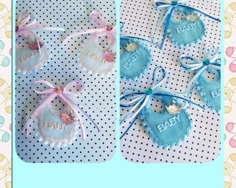 12 Little prince or princess baby shower pins - Little Princess and little prince baby shower favors-princesss baby shower- prince baby