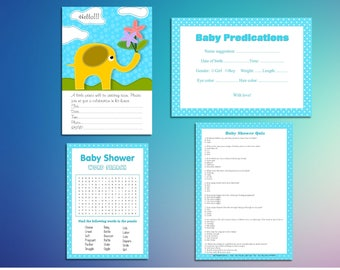 Baby Shower Instant Download