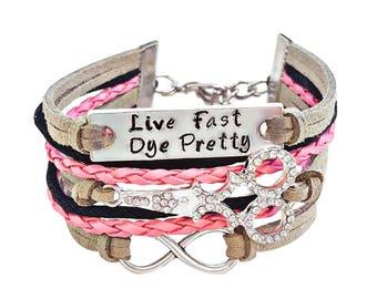 Hairstylist Bracelet, Scissor Bracelet, Hairstylist Gift, Shears Bracelet, Hairdresser Jewelry, Shears Jewelry, Hand Stamped Bracelet