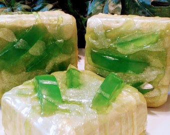 Honeydew Melon Juice Soap