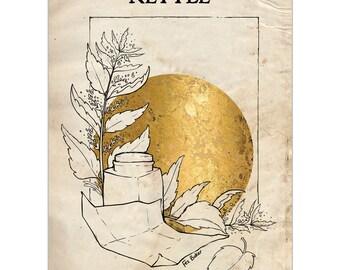 Plant Folklore: Nettle - A6 Art Print