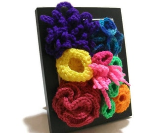 Tropical Decor, Coral Reef Art, Coral Reef Decor, Tropical Home Decor, Rainbow Wall Decor, Nautical Nursery, Coral Reef Wall Art, Rainbow