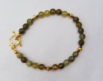 Green Garnet Bracelet