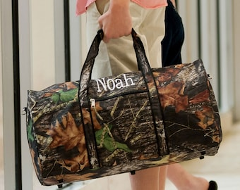 Large Camouflage Duffel Bag - Personalized Duffel Bag - Camo Duffel Bag - Camouflage Bag