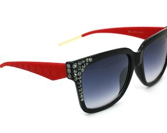 Bling Custom  Sunglasses w/ Swarovski Crystals