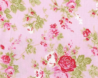 Fabric by the Yard -- Delilah Amelie in Pink by Tanya Whelan