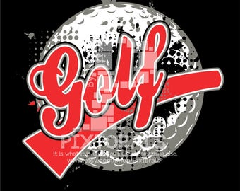 Golf logo, JPG, PNG and EPS formats as Vector, Sports Vector, Golf Design