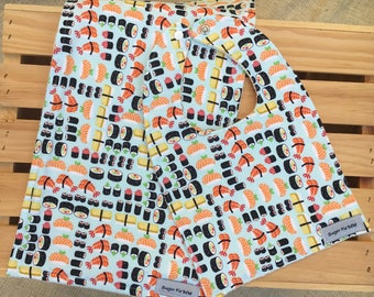 Bib & Burp Cloth Set / Sushi Baby Gifts /