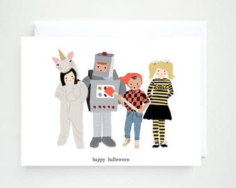 Happy Halloween Printable Card, Printable Card, Happy Halloween, Halloween Printable Card, Kids Halloween Card, Halloween Card for Kids