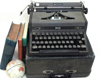RESERVED Royal Quiet De Luxe Typewriter