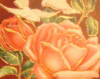 LAST CHANCE SALE 3 Pretty Vintage Floral Postcard