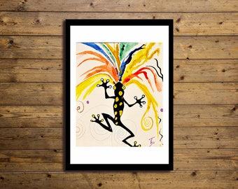 Poster Artistico 50x70cm RANA