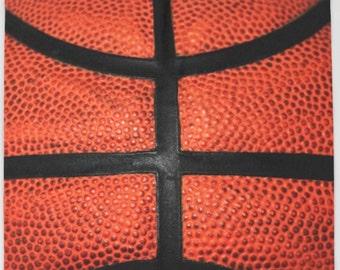 Basketball Fleece Blanket-Sherpa Throw Blanket-Orange Blanket-Arctic Pro Polar Fleece Blanket-Coral Fleece Blanket-Boys/Girls Bed Blanket
