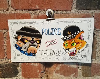 police and theives original
