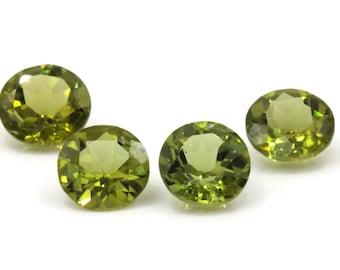 Peridot | Natural Peridot | Peridot Gemstone | Peridot Loose Gemstone | August Birthstone |  Green Peridot round 1 Pc 2.48ct  8mm