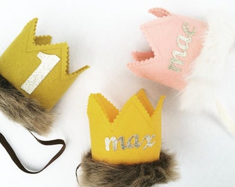 Wild One Girl Crown, First Birthday Girl, First Birthday, Pink and Gold, Smash Cake, Photo Prop Girl, Wild One Girl, Girls Birthday, Wild
