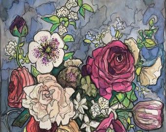Original watercolor painting 33/100