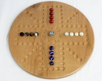 Aggravation/Wahoo 4 Player Variation 1 in Alder