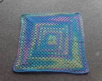 Afghan,blanket,cover,crocheted,baby,newborn,infants,gift,multi-color,shower,throw,stroller,car seat,lightweight