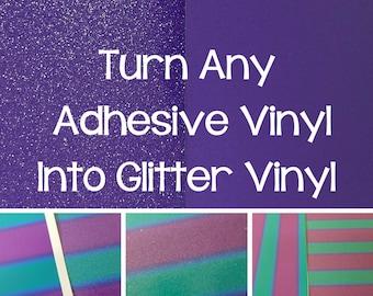 Sparkle Laminate/Glitter Laminate/Make Vinyl into Glitter Vinyl/Add Glitter to Vinyl/Sparkle Lamination/Glitter Lamination/Glitter Vinyl