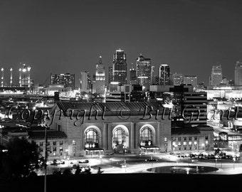 Kansas City Skyline and Union Station - Fine Art Photograph