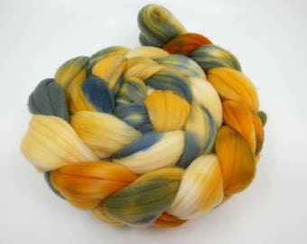 Blue Tits - 4oz - 114g - Combed Domestic Targhee Top