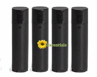 Black Lip Balm Tube - 10 Pack