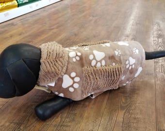 Cuddly, Minky or fleece dog coats