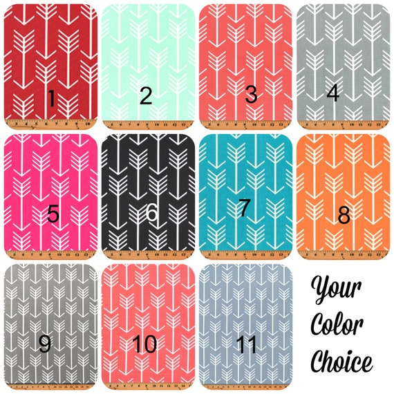 Arrow Curtain Valance In Coral, Grey, Candy Pink, Orange, Blue, Mint, Red,  Black, Blue, Green, Arrows Curtains, All Sizes   You Choose
