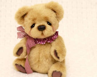 TIMOSHKA. Made To Order. Author's Collectible 10 inch OOAK Teddy Bear. Plush Teddy bear. Stuffed Animal Soft Toy by Catherine Grishina.