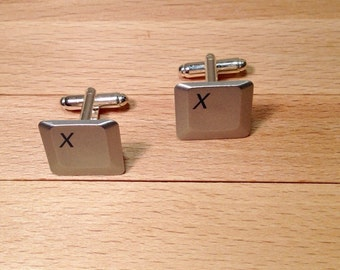 Computer Key Cufflinks - Personalized Cufflinks With Your Choice of Keys
