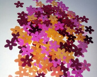 Set of 100 10 mm scrapbooking flowers