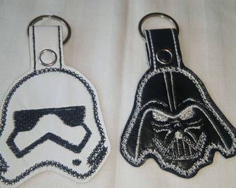 Star wars Zipper Pull/Keychain