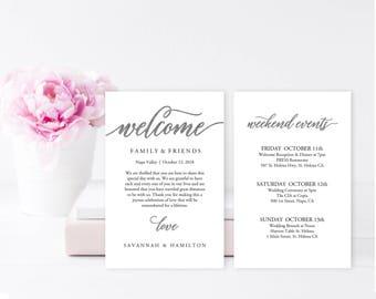 Wedding itinerary | Etsy