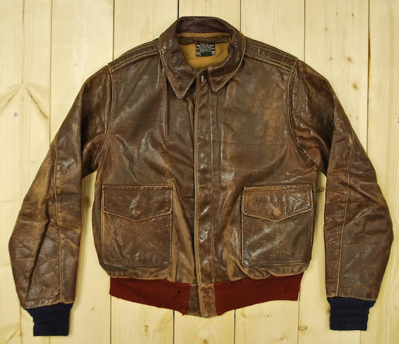 80s ADVENTURE BOUND Full Button Leather Flight Bomber Jacket Mens Large, Vintage Motorcycle Jacket, Moto Leather Jacket Black, Vintage
