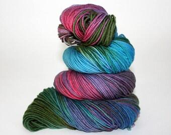 Hand-Painted DK Superwash Merino Wool Yarn - Confetti