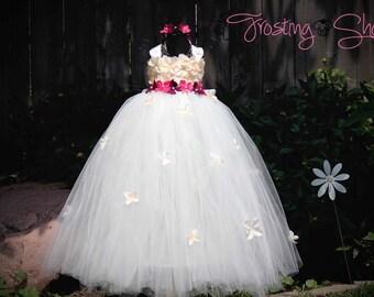 Petal Drop Tutu Dress- Pop Your Colors