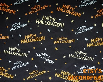 Happy Halloween! - David Textiles - 100% Cotton - 1/2 Yard - more for one cut