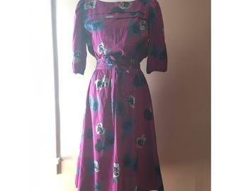 Purple Items Dress