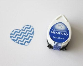 Memento Dew Drop stempelkussen, Danube Blue MD 600