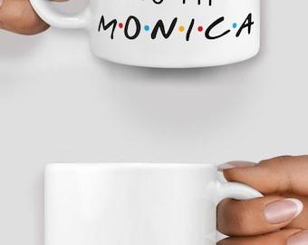 Friends inspired you're the rachel to my monica mug - Christmas mug - Funny mug - Rude mug - Mug cup 4P060