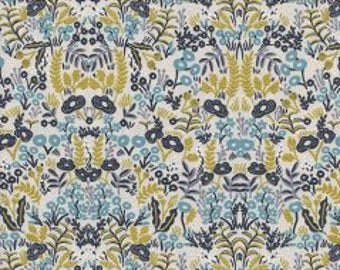 MENAGERIE By Rifle Paper Co.  For Cotton And Steel Fabrics Tapestry Metallic Natural